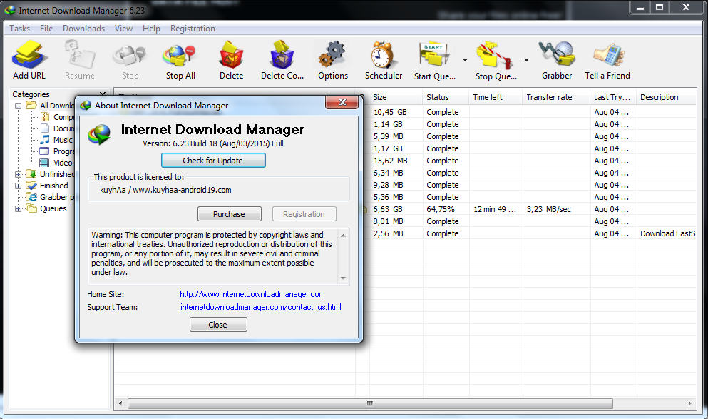 IDM 6.23 build 18 full version