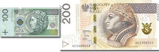 Dinheiro do mundo - Polonia - Zloty