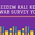 Reedem Kali Ketiga Jawab Survey Yougov
