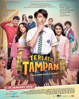 Download Nonton Streaming Film Terlalu Tampan (2019) Full Movie 360p, 480p, 720p, 1080p