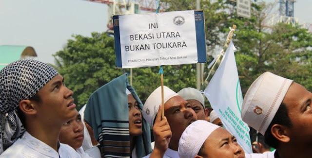 PDI Perjuangan Kota Bekasi Desak Pembangunan Gereja St Clara Dilanjutkan