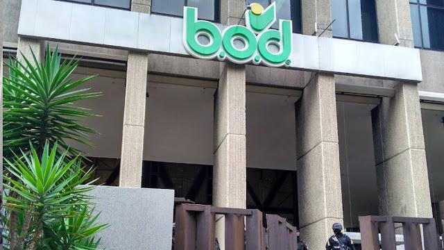 Sudeban impuso intervención administrativa al BOD por 120 días