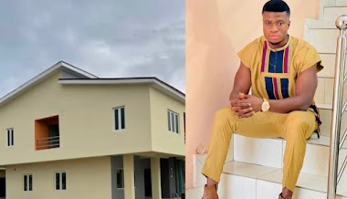 Comedian Zicsaloma unveils new house, weeks after buying Benz