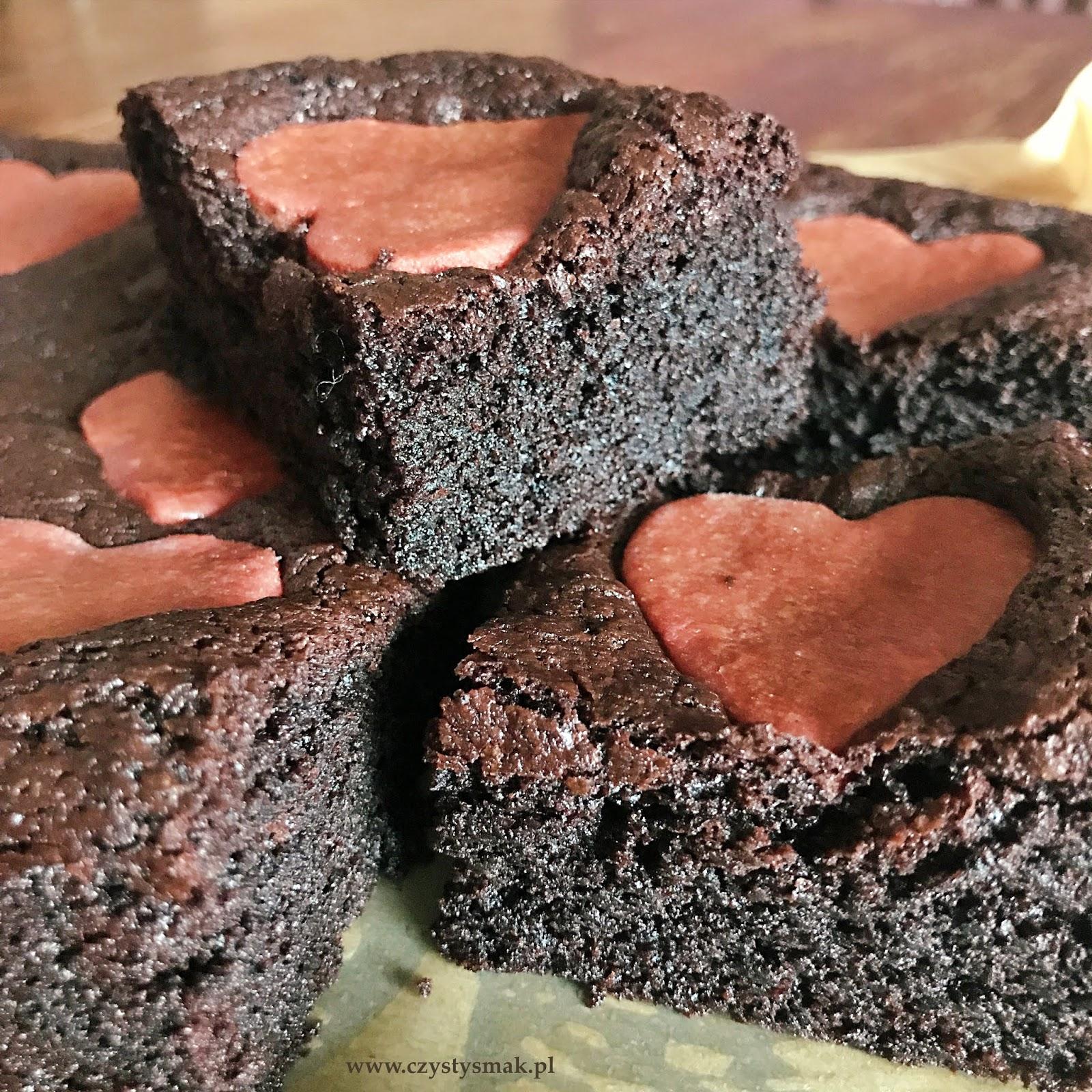 Wilgotne ciasto czekoladowe