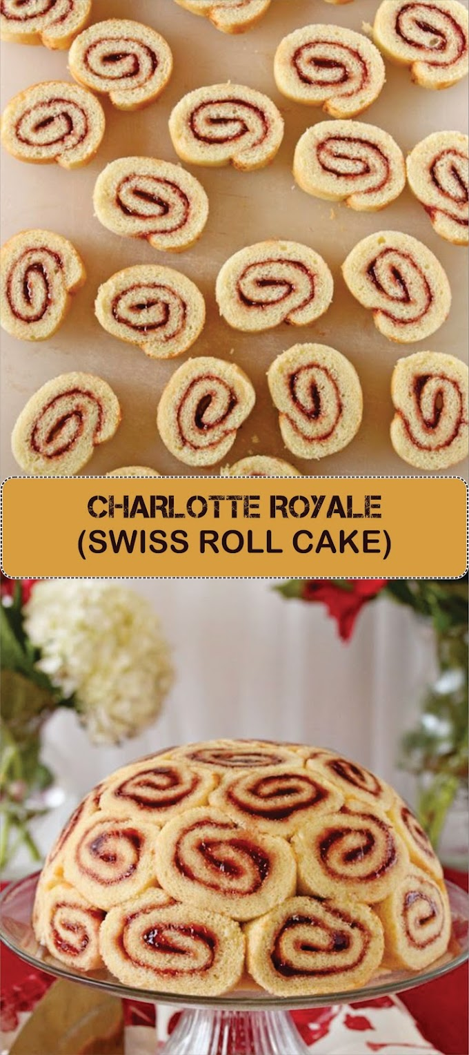 CHARLOTTE ROYALE (SWISS ROLL CAKE)