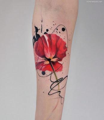 Tatuajes de Orquideas