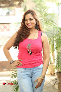 Tollywood Actress Ashwini Latest Stills in Ripped Jeans  0008.JPG