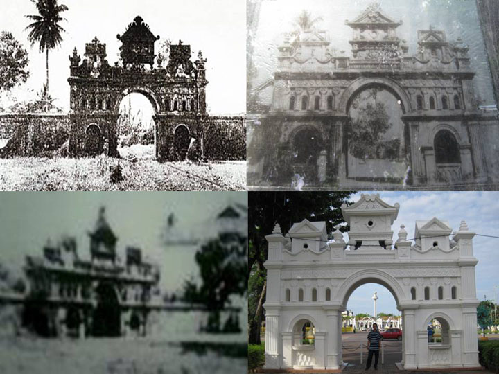 Gambar pintu gerbang Kota Setar