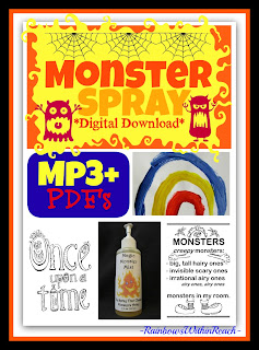 photo of: Monster Spray Digital Download Mp3 at Teachers Pay Teachers