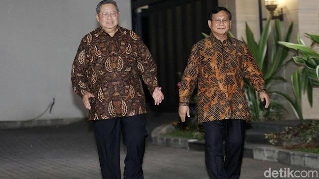 Sandiaga Susul Pertemuan SBY-Prabowo di Mega Kuningan