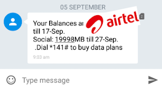 Get Airtel 100GB for N300 or 20GB For Just N200 Plus Guide To Use it With All Apps and Browsers