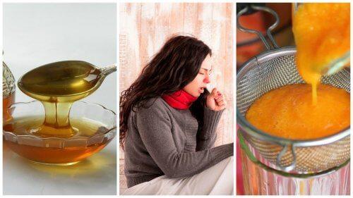 La combinaison de carotte et du miel pour éliminer les mucosités: Sirops faits maison