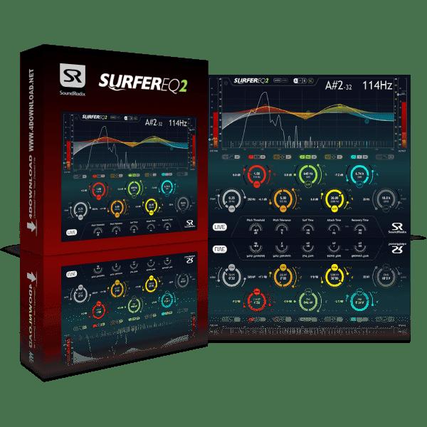 Sound Radix SurferEQ v2.0.5 Full version