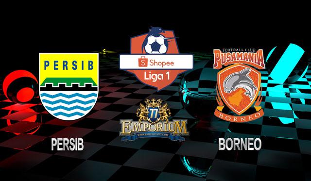 Prediksi Persib Vs Borneo 14 Agustus 2019