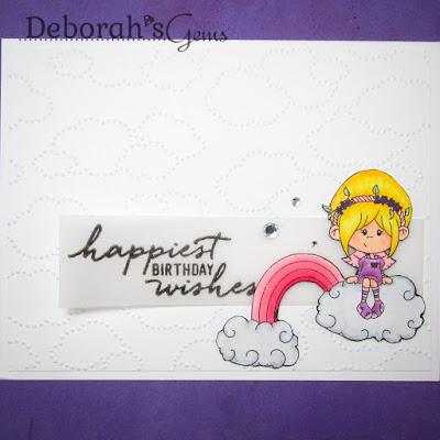 Happiest Birthday Wishes sq - photo by Deborah Frings - Deborah's Gems
