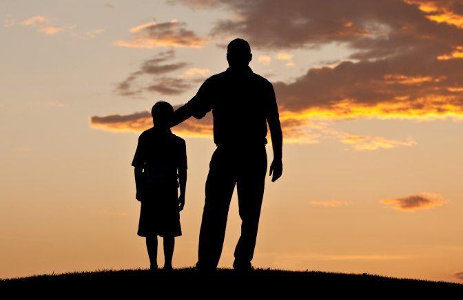 El trabajo que realiza un padre