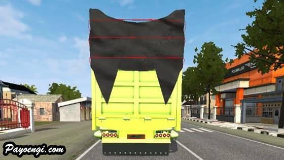 mod bussid truck hino lohan c23