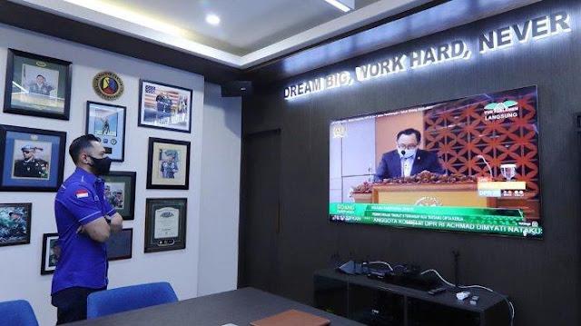 AHY Tolak UU Cipta Kerja karena Sudah Tanggung, Jadi Menteri pun Pasti Terhalang PDIP