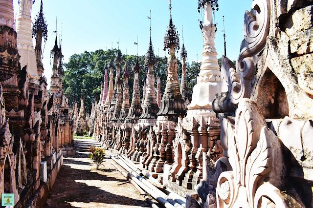 Kakku Pagodas, Myanmar