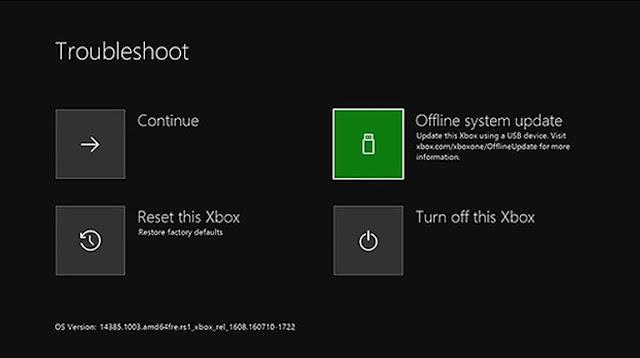 إعادة ضبط المصنع لجهاز Xbox One