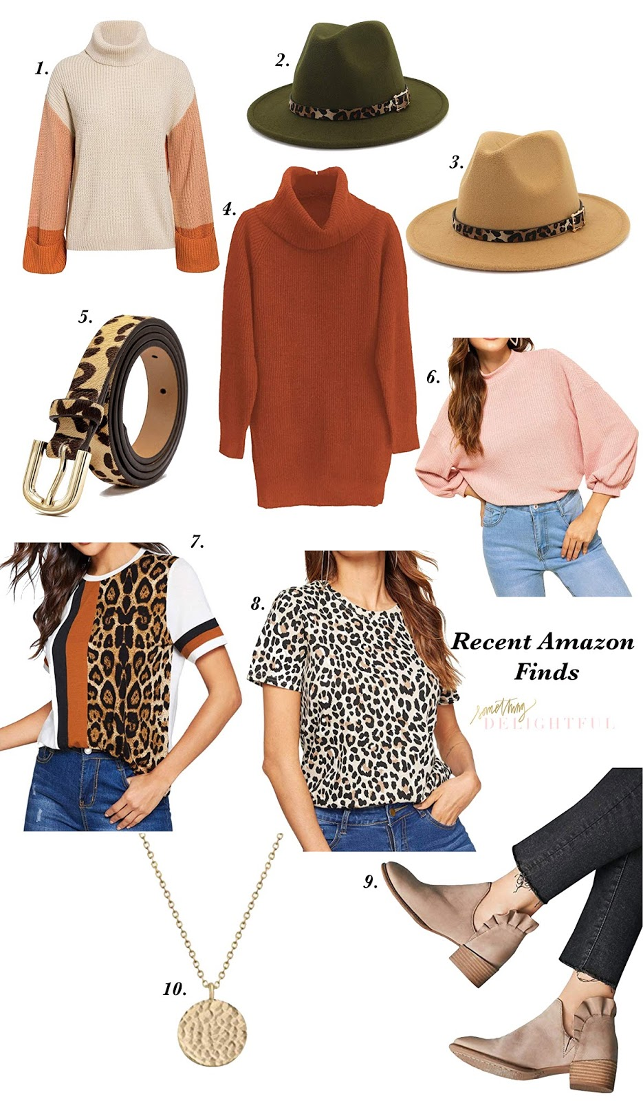 Recent Amazon Finds: Sweaters, Pullover, Booties, Hats and More! - Something Delightful Blog