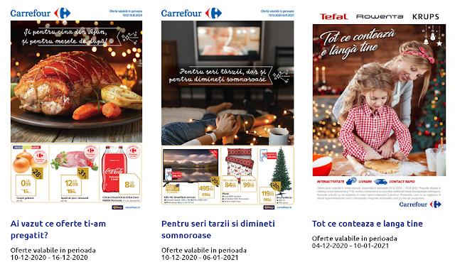 CARREFOUR Cataloage - Brosuri 10-16.12 2020 → Pregatiri pentru Craciun!