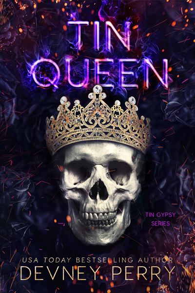 Cover Reveal: Tin Queen (Tin Gypsy #6)  by Devney Perry