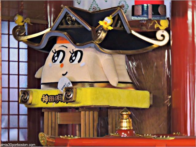 Detalles del Santuario Kanda Myojin en Tokio