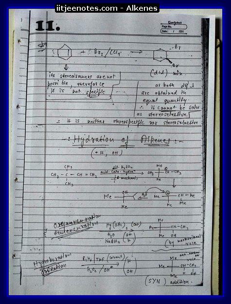 Alkenes Notes1