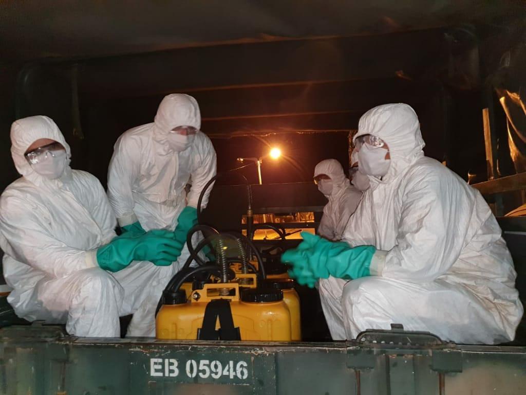 Exercito é Invocado para Descontaminação Biológica do Coronavirus em Davinopolis