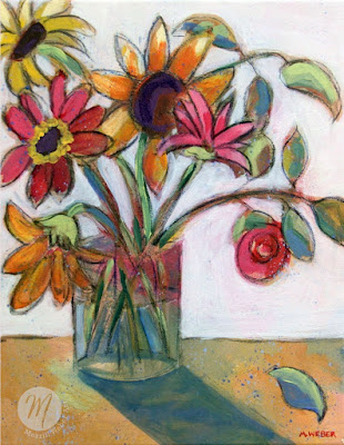 Veranda-View-floral-painting-Merrill-Weber