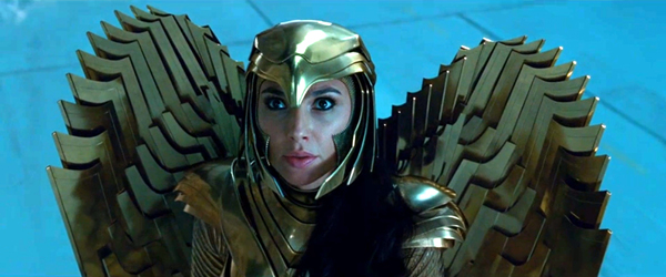 Diana Prince (Gal Gadot) dons the armor of the legendary Amazon warrior Asteria in WONDER WOMAN 1984.