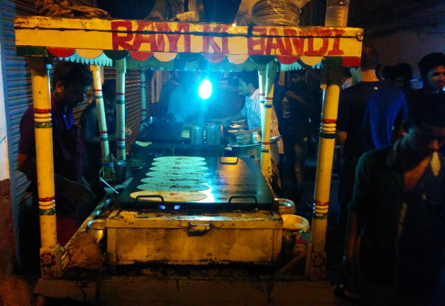 Ram Ki Bandi - one of the best late night food joints in India