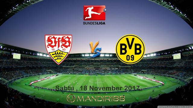 Bundseliga karenanya akan digelar kembali Berita Terhangat Prediksi Bola : Stuttgart Vs Borussia Dortmund , Sabtu 18 November 2017 Pukul 02.30 WIB