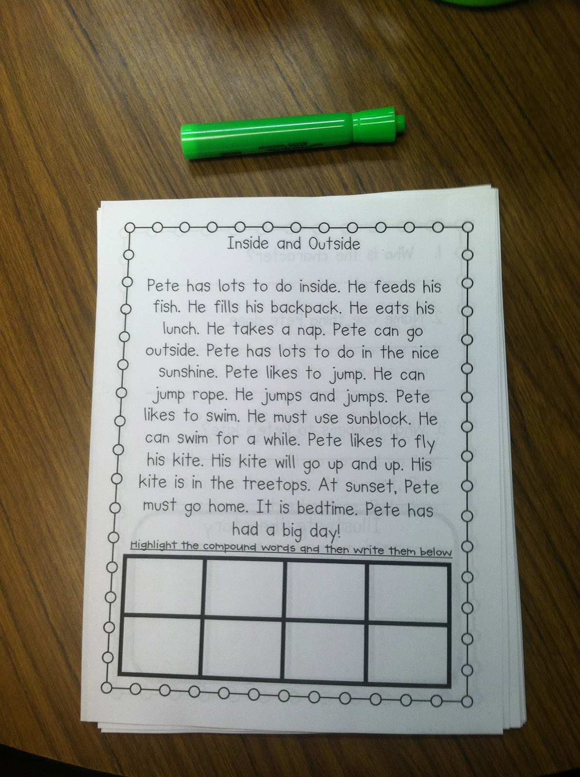 Life In First Grade Scott Foresman Decodable Readers
