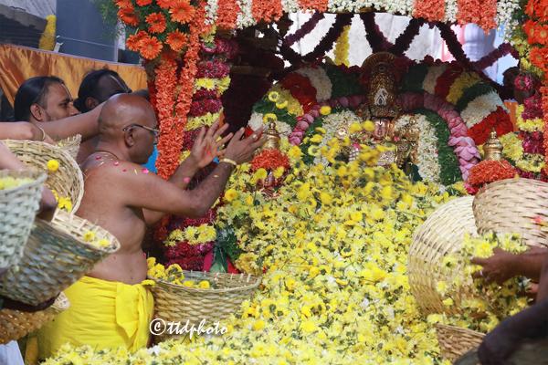శ్రీగోవిందరాజస్వామివారి పుష్పయాగ మహోత్సవం