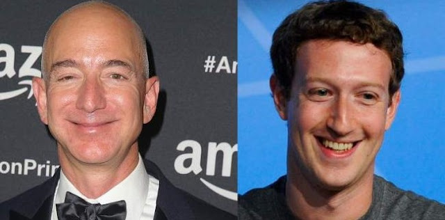 Ketika Angka Pengangguran AS Melejit, Kekayaan Bos Amazon Dan Facebook Meroket