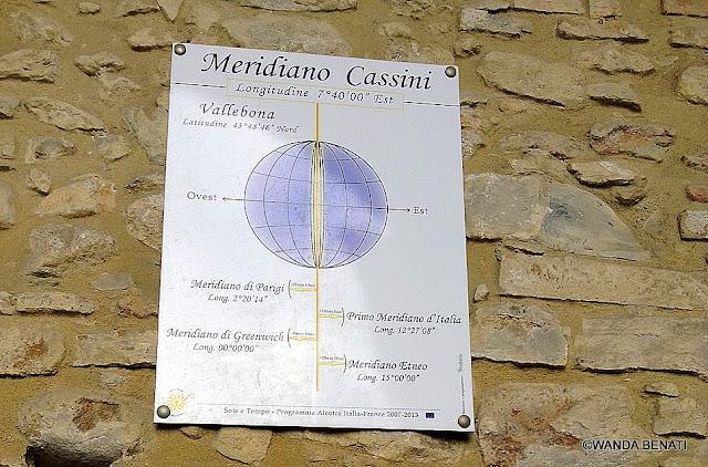 Il Meridiano Cassini a Vallebona