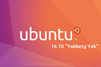 Lançado o Ubuntu 16.10 (Yakkety Yak)!