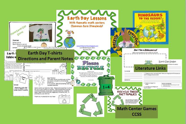https://www.teacherspayteachers.com/Product/Earth-Day-Lessons-139228