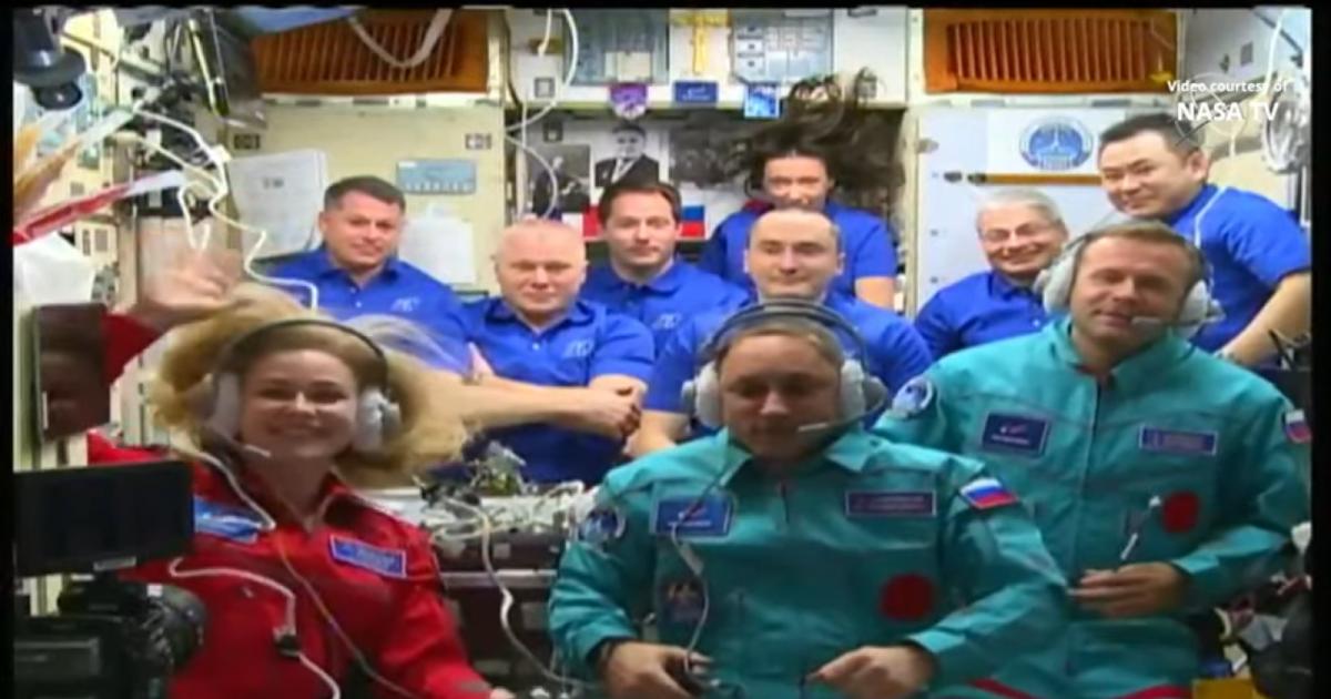 Soyuz MS-19, lancio ed arrivo sulla Stazione Spaziale Internazionale, la prima missione con una troupe cinematografica a bordo! Rivediamo il lancio!