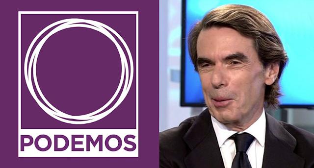 Podemos carga contra Aznar y la FAES por avalar un tripartito PP, C's y Vox en Andalucía