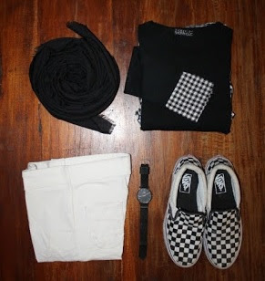 Tips Simple Mix and Match OOTD  Kampus Yang Nyaman