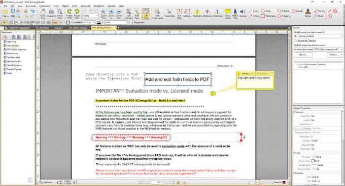 PDF-XChange Editor Plus / Pro 9.0.354.0 + Portables