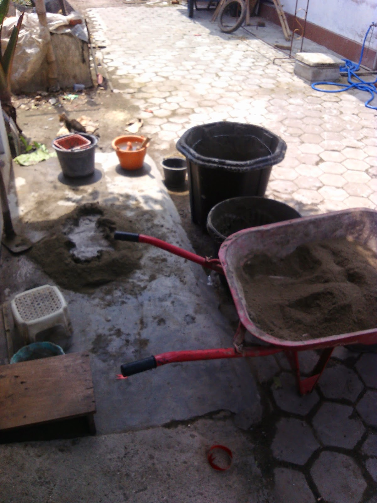 peduli lingkungan  cara membuat pot semen paling evektif f9426a87bf