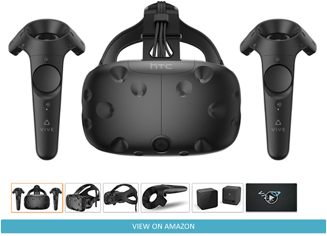 HTC VIVE Virtual Reality System Review