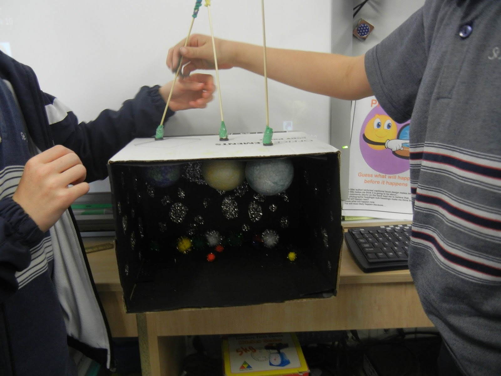Solar System Model Inside Box (page 4) - Pics about space