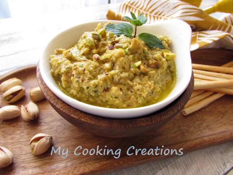 Песто от гриловани тиквички * Pesto di zucchine grigliate