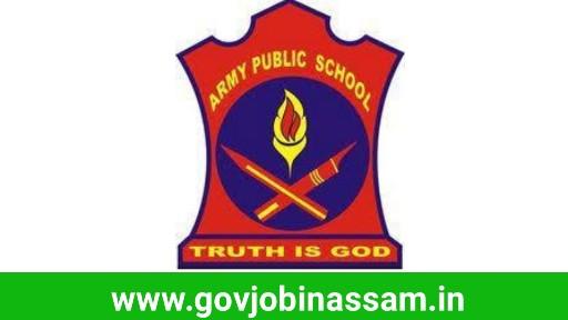 Army Public School Tezpur Recruitment 2018