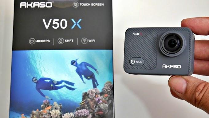 SORTEIO DO DIA - Câmera de ação Akaso V50 Pro 4K